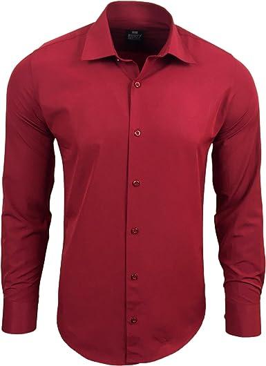 Rusty Neal R de 55 Hombre Camisa Business camisas boda Tiempo ...