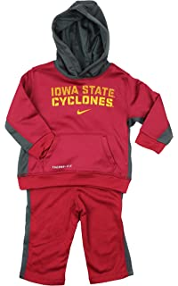 super popular 744cd 46e9e Nike Infants NCAA Iowa State Cyclones 2-Piece Hoodie   Pant Therma-Fit  Performance