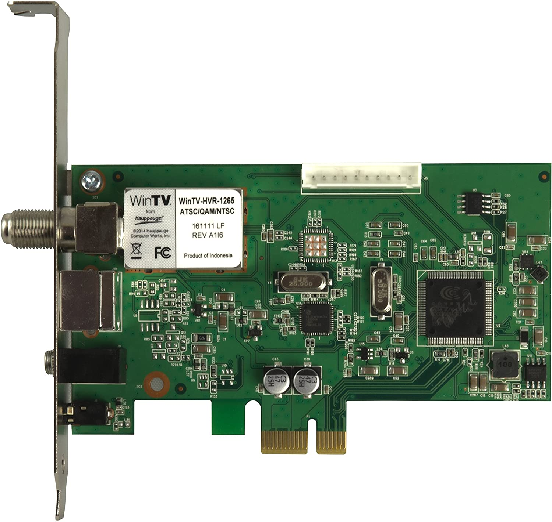 Amazon Com Hauppauge 1196 Wintv Hvr 1265 Pci Express Hybrid High Definition Tv Tuner Card Electronics