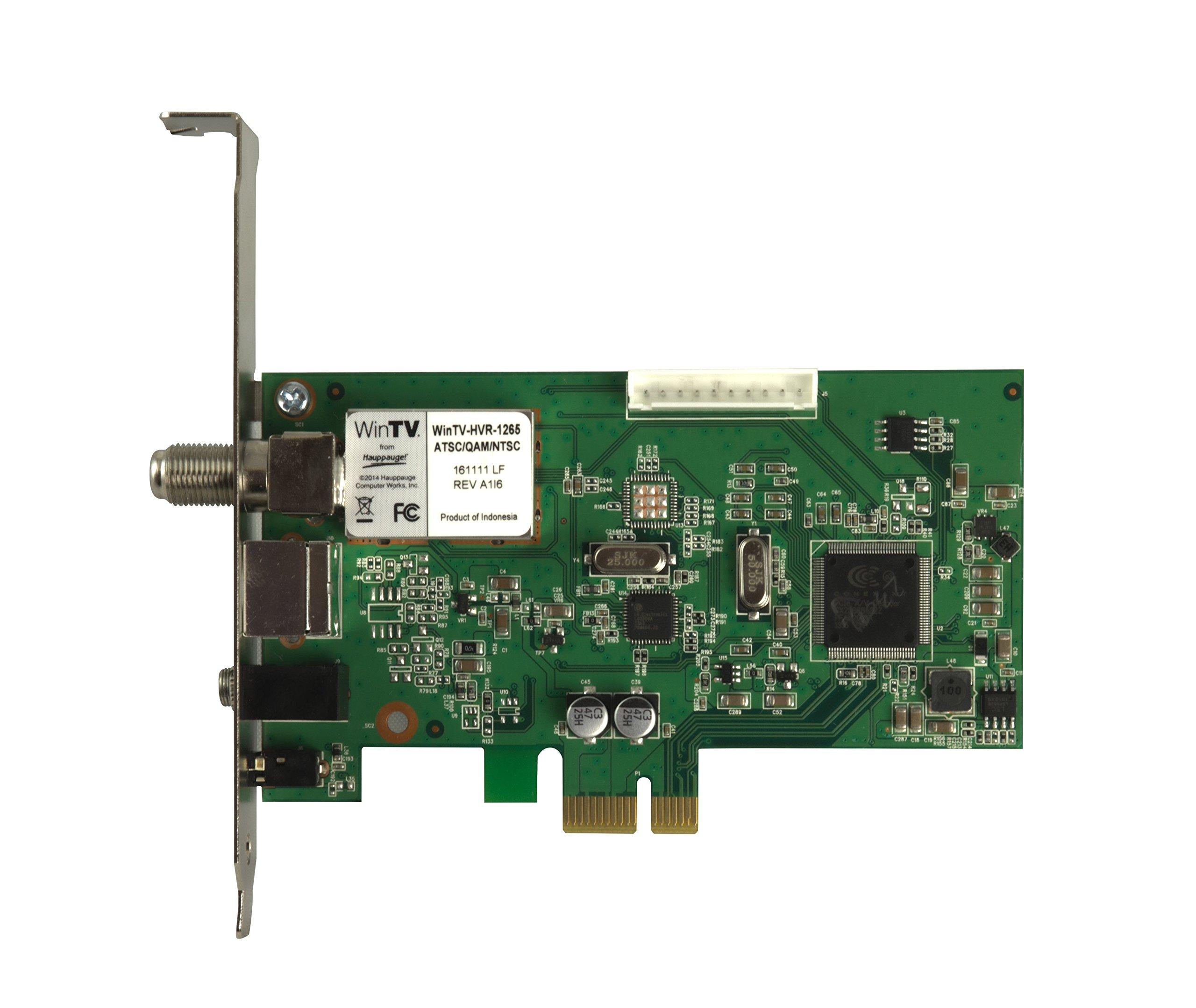 Hauppauge 1196 WinTV HVR-1265 PCI Express Hybrid High Definition TV Tuner Card by Hauppauge