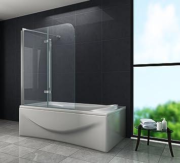 Eck Duschtrennwand AROUND 75 (Badewanne)