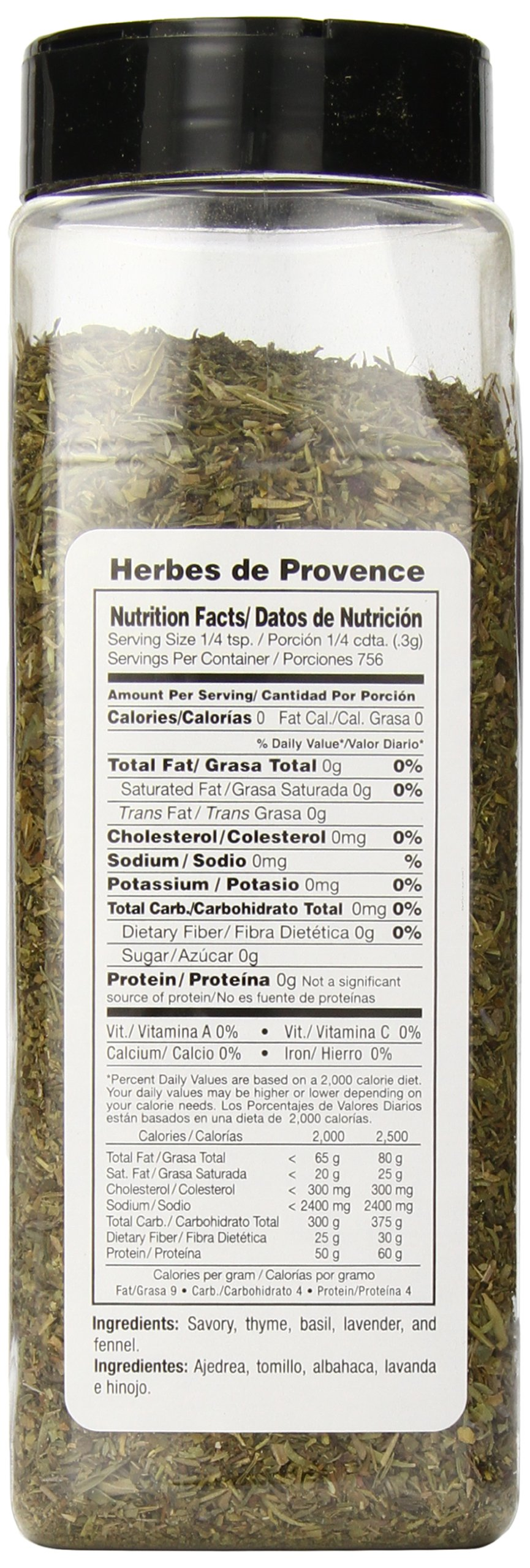 Badia Herbs De Provence, 8 Ounce (Pack of 6) by Badia (Image #4)