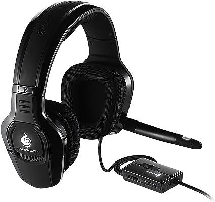 Cooler Master Sirus C Cuffie Gaming 'LED Bianche, Controllo Microfono e Volume sul filo, 0' SGH 4650 KC3D1