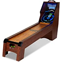 MD Sports 9 Ft. Roll and Score Table Arcade Game Includes 4 Skee Ball, LED light