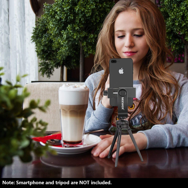 Neewer 2-Pack Soporte Smartphone con Soporte Trípode 1/4 ...