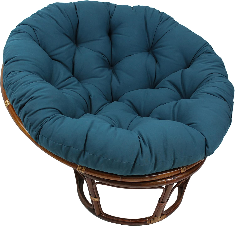 "Papasan Cushion 44/"" diameter tufted style"