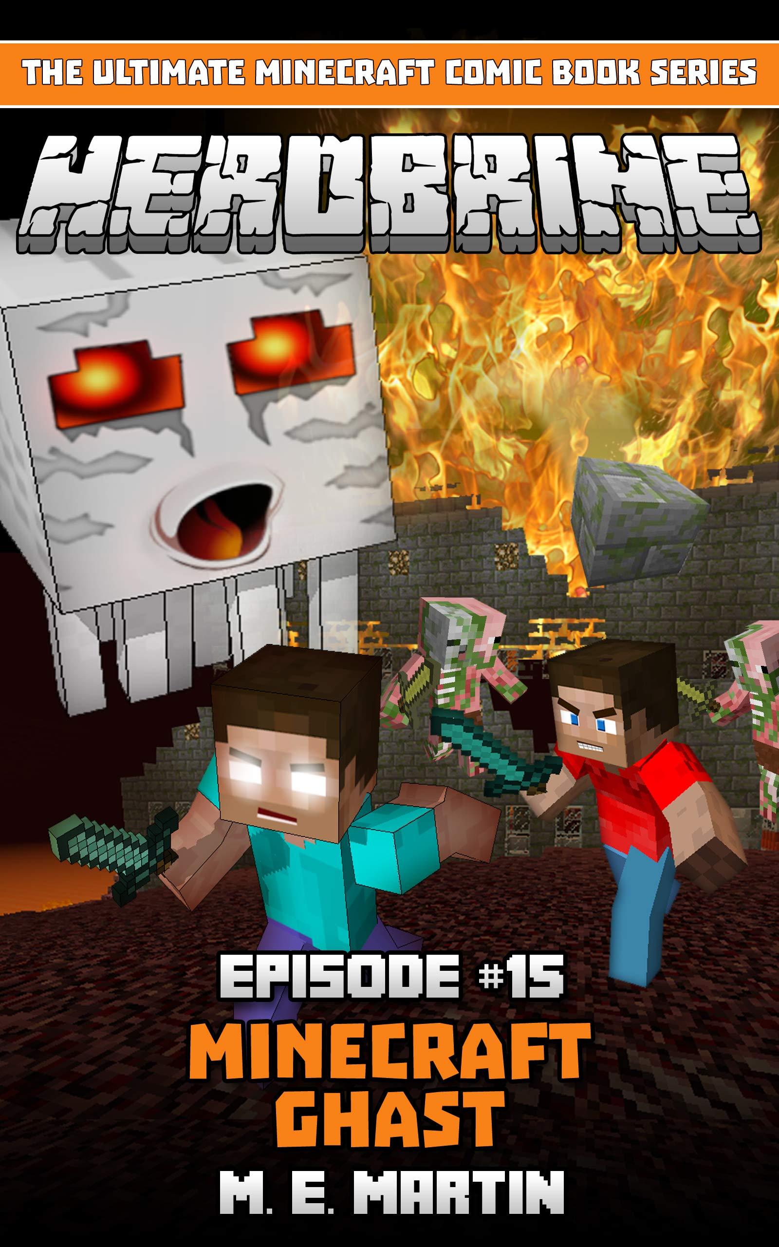 HEROBRINE Episode 12: Minecraft Golem (Herobrine Comic Book Series
