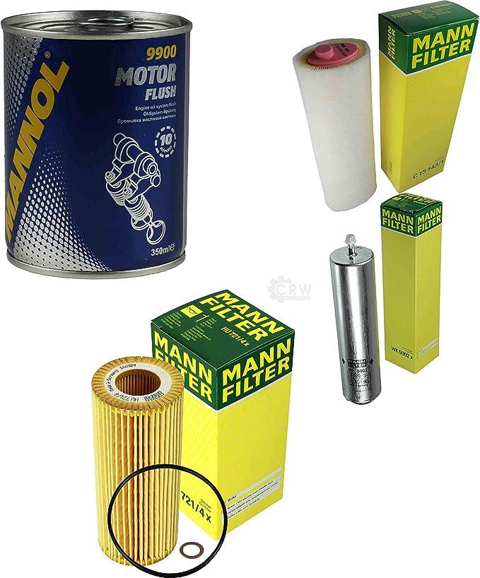 Original Mann Filter Inspektionspaket Set Sct Motor Flush Motorspülung 11574445 Auto