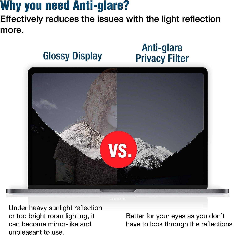 16:9 2012-2015 Pro 15 KAEMPFER Filtro ultra sottile reversibile anti-luce blu antiriflesso privacy per laptop widescreen da 11,6 Ultra-Thin MacBook Standard Ultra-Thin MacBook Standard