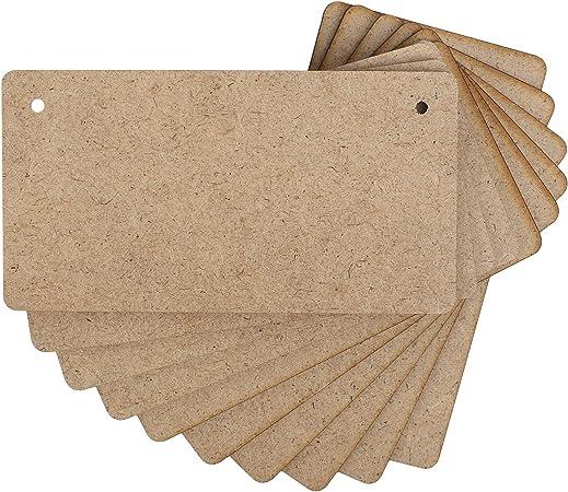 Targhetta stilizzata in legno per il fai da te hobby creativi