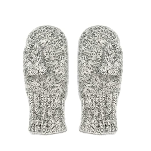 2c3467b02 Dachstein Woolwear 4 Ply Extreme Warm 100% Austrian Boiled Wool Alpine  Mittens in Natural Grey