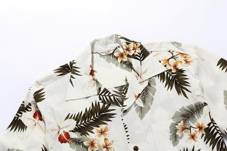 Mens Hawaiian Shirt Aloha Shirt