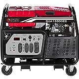 A-iPower SUA15000ECV 15000-Watt Portable Generator Gas Powered Electric Start, 15000 Rated Watt/12000 Running Watt, EPA/CARB