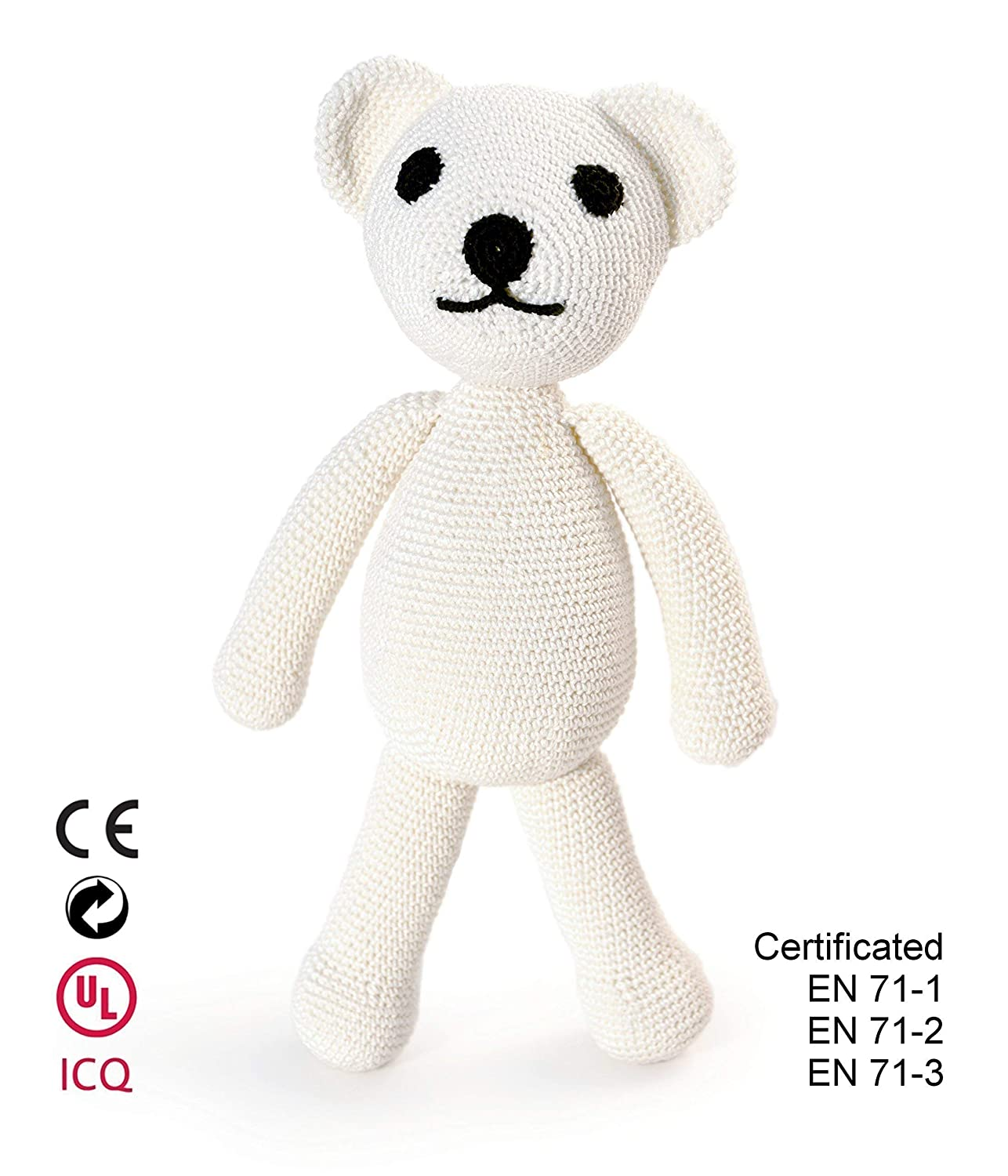 Bear. Children' s crocheted toy