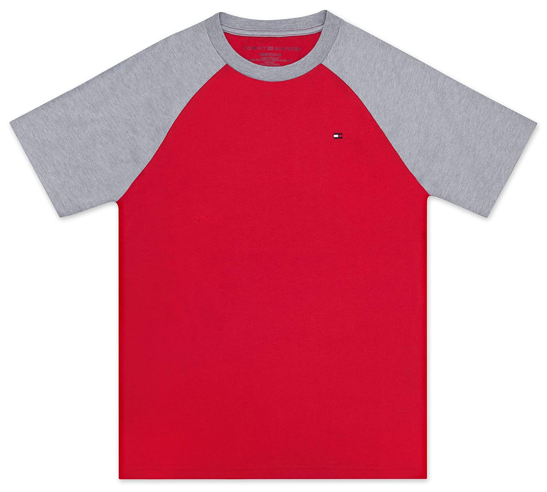 Tommy Hilfiger Baby Boys Toddler Raglan Short Sleeve Tee Shirt