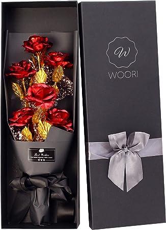 WOORI Gold Roses Bouquet