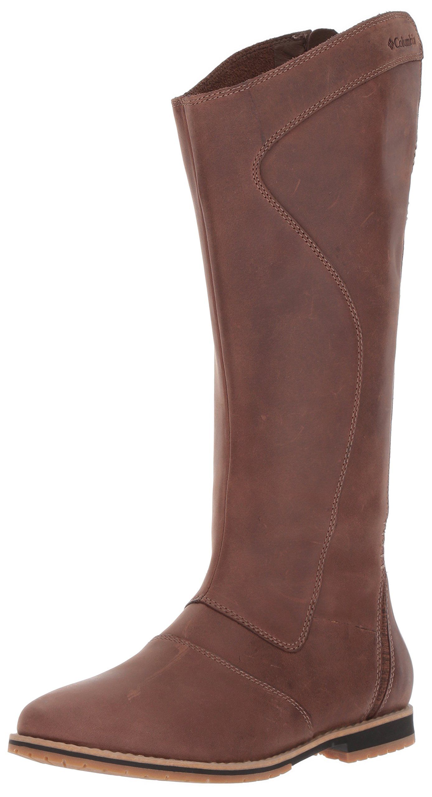 Columbia Women's Twentythird Ave Waterproof Tall Boot Uniform Dress Shoe, Tobacco, Oxford Tan, 6 B US