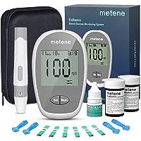 Metene Enhance Blood Glucose Monitor Kit, 100 Glucometer Strips, 100 Lancets, 1 Blood Sugar Monitor, Blood Sugar Test…