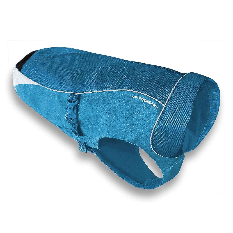 Coastal bluee L Coastal bluee L Kurgo 02000 01999 North Country Coat, bluee, Large