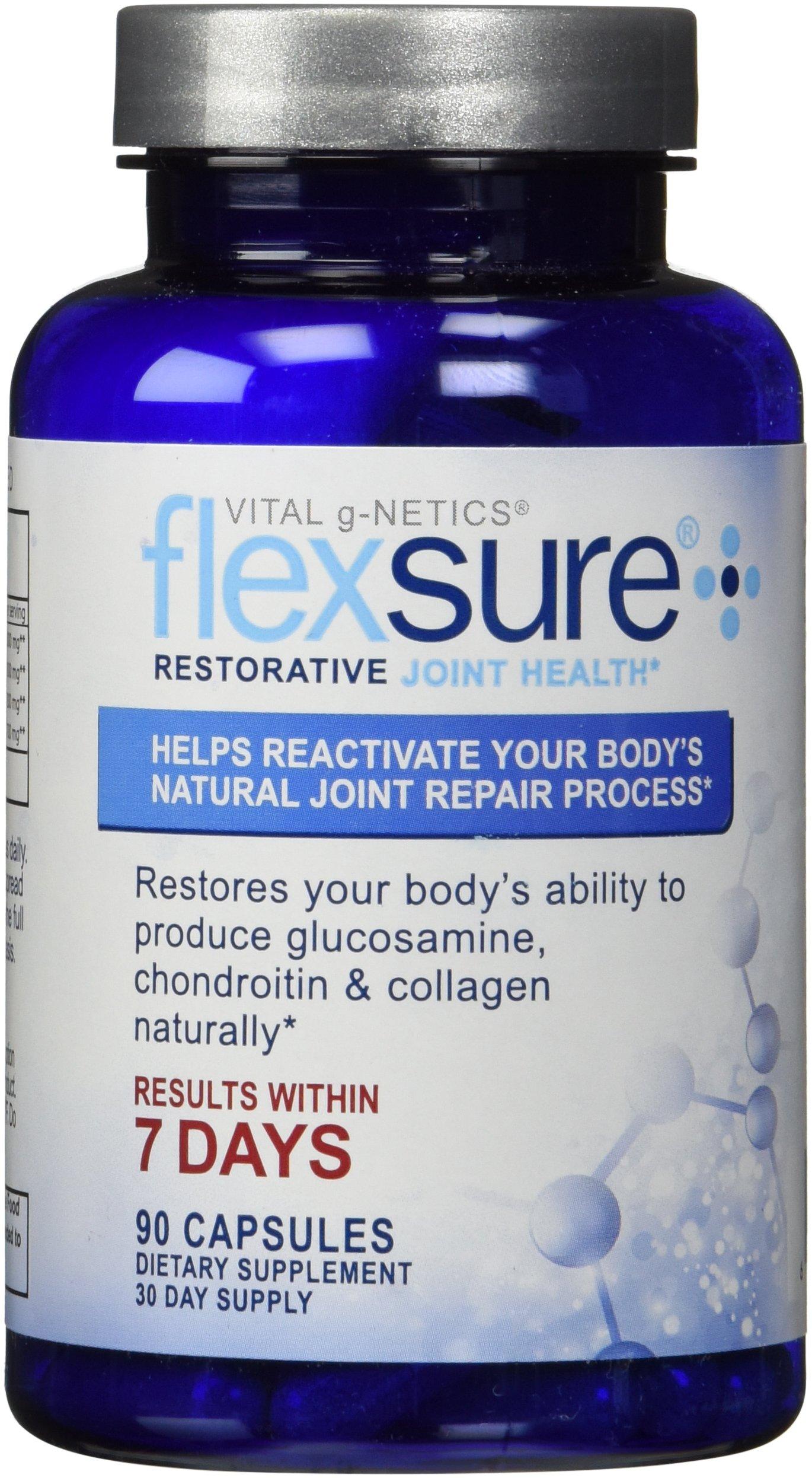 Vital g-Netics Flexsure Restorative Joint Health 90 Caps by Unknown (Image #1)