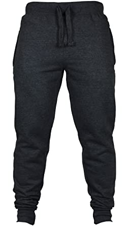 New Mens Slim Fit Tracksuit Bottoms Skinny Jogging Joggers Sweat Pants  Trousers (Small (32 0ef4562bf5a