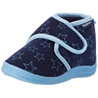 Playshoes Hausschuh Pastell, Ciabatte Unisex-Bambini