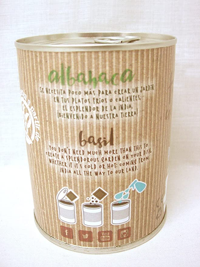 Pocket Garden SeedBox POT - Albahaca: Amazon.es: Hogar