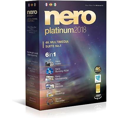 Nero Platinum 2018 - Software De Edición Y Gestión De Vídeo, 6in1, Para Windows 10