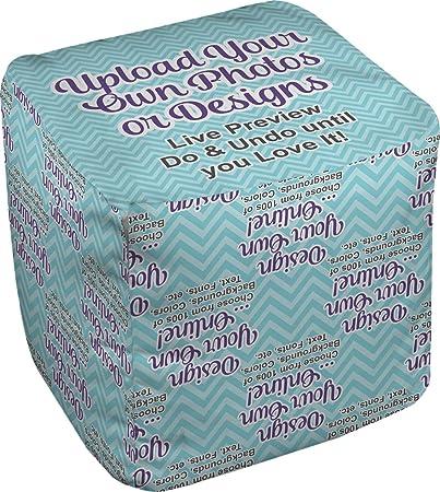 amazon com rnk shops design your own cube pouf ottoman 13