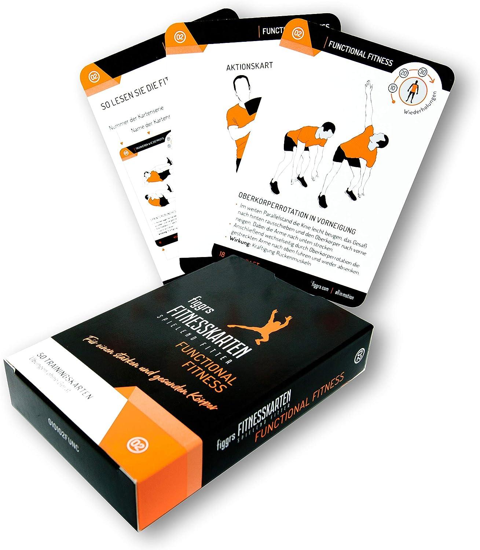 figgrs Trainingskarten Functional Fitness (figgrs Trainingskarten  für eine leistungsfähige und dynamische Muskulatur) 1