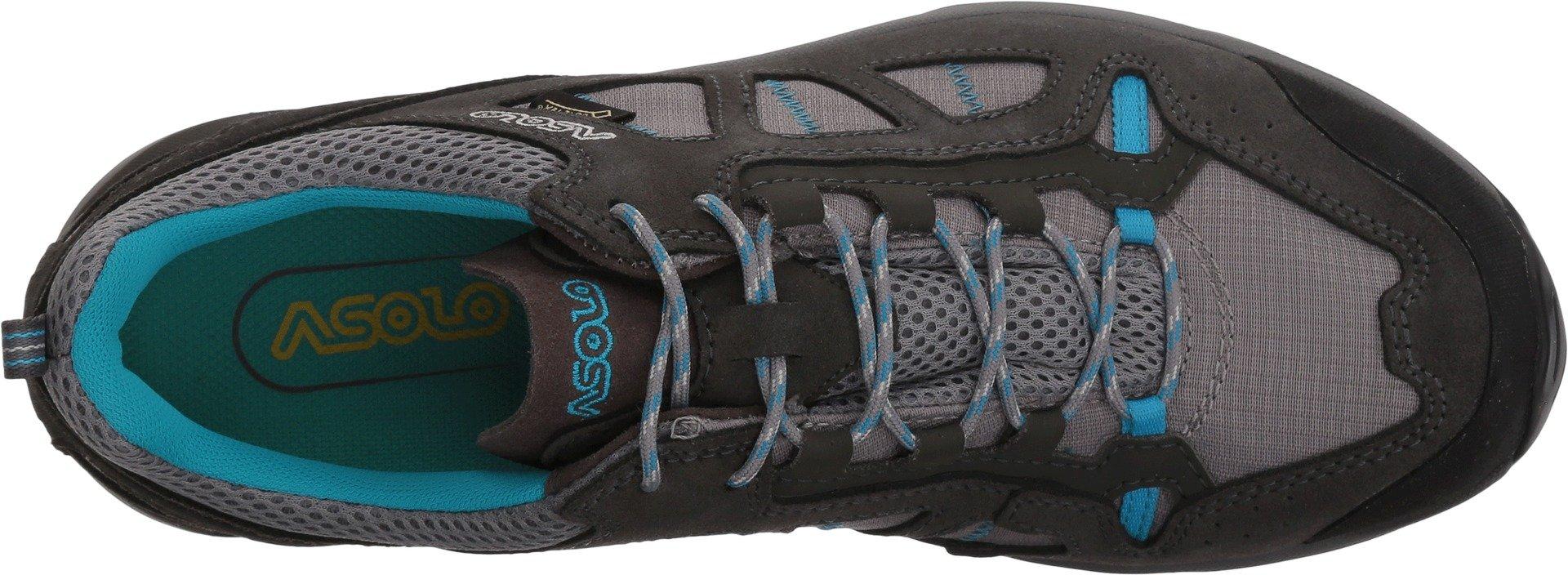 Asolo Women's Megaton GV Hiking Shoe Graphite Stone/Cyan Blue - 7.5 by Asolo (Image #2)