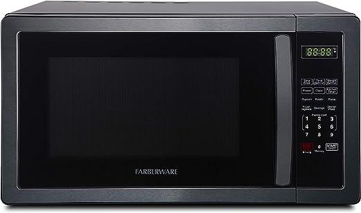 Opinión sobre Farberware Classic FMO11AHTBKD - Horno de microondas (1000 W, 1,1 pies cúbicos)