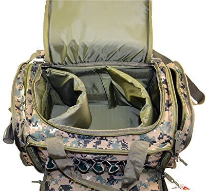 40eb90e598a66 Explorer 18 Inch Tactical Bailout Heavy Duty Gun Bag Officer Tactical Range  Bag with Weather Resistant