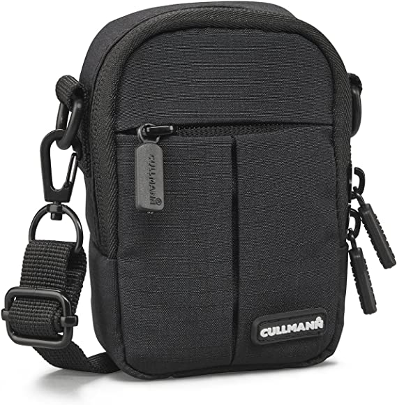 Cullmann Malaga Kompakt 300 Kameratasche Für Kompaktkamera 7 X 11 X 4 Cm Schwarz