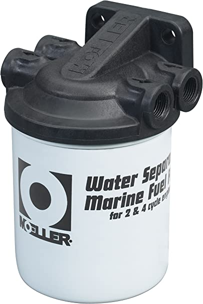 3 PACK OF FILTERS OUTBOARD BOAT MOELLER UNIVERSAL FIT CLEAR VIEW FUEL FILTER