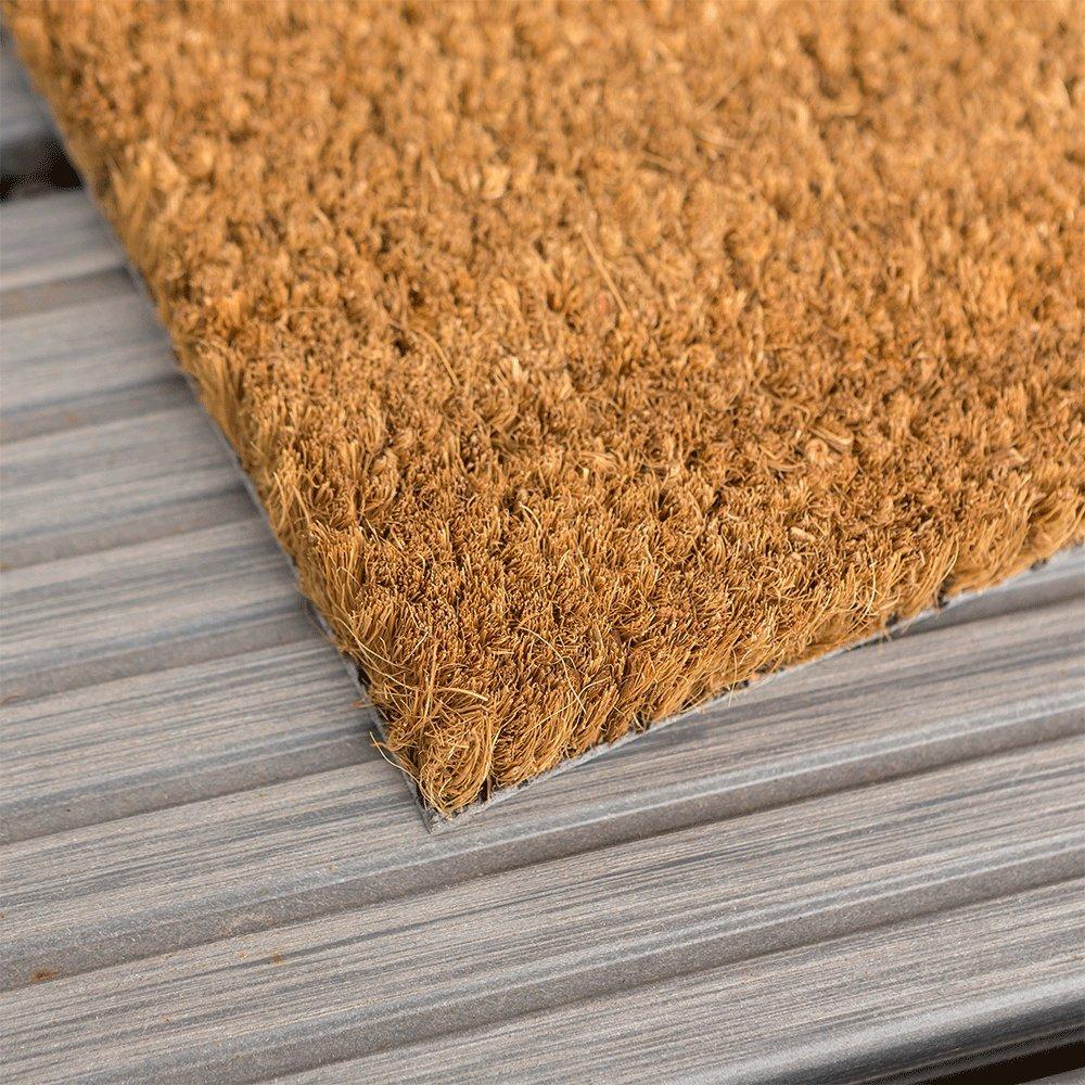 Kokosmatte nach Maß   Kokos Fußmatte Fußmatte Fußmatte mit Zuschnitt auf Maß   Stärke  17 mm, Breite  40-120cm, Länge  60-300cm   ab 44,13 € (73,55 € m²)   ausgewählt  40-60 cm breit, 60-100 cm lang e18d09