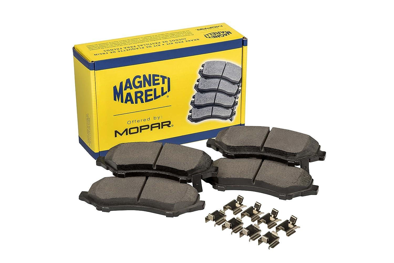 2 Pack Magneti Marelli by Mopar 2AMV4871AA 2AMV4871AA-Brake Pad Set