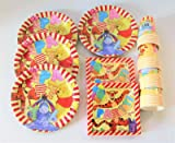Disney Winnie The pooh Tableware for 32, Plates, Cups, Napkins
