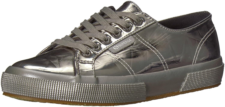Superga Women's 2750 Synleadiamondmirrorw Sneaker B0777YTR8W 40 M EU (9 US)|Grey