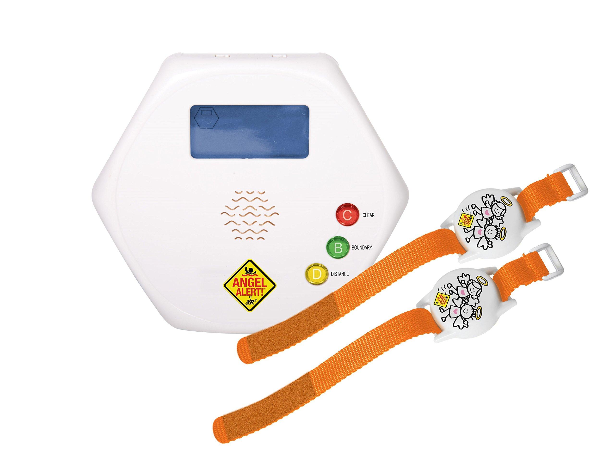Angel Alert Wireless Pool Guardian and Boundary Alarm- GT-ADA100-2B by Pool Angel