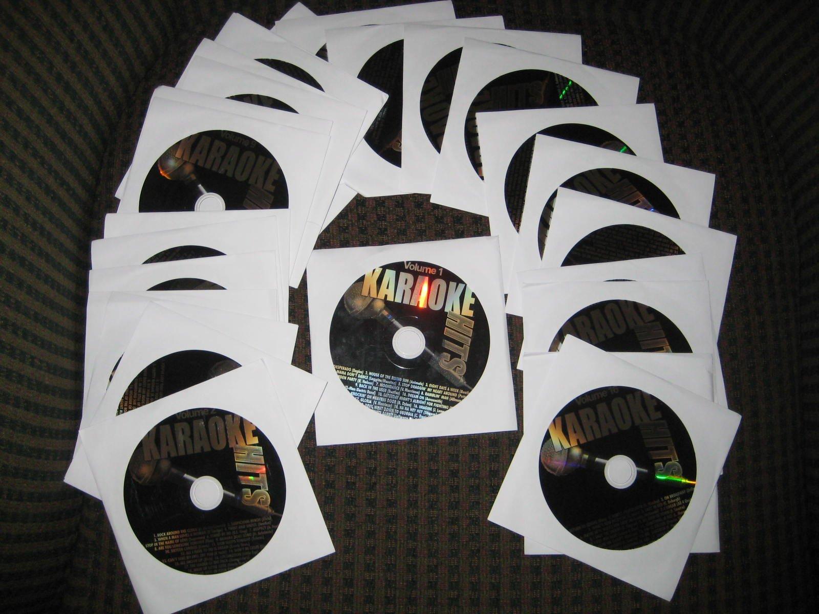 500 Song KARAOKE HITS CDG Starter/Filler: Country Pop Oldies R&B Standards by