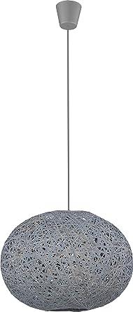 Leuchte Deckenleuchte Wohnzimmer Lampe E27 Schlafzimmer Weiss Grau (Modell  II)
