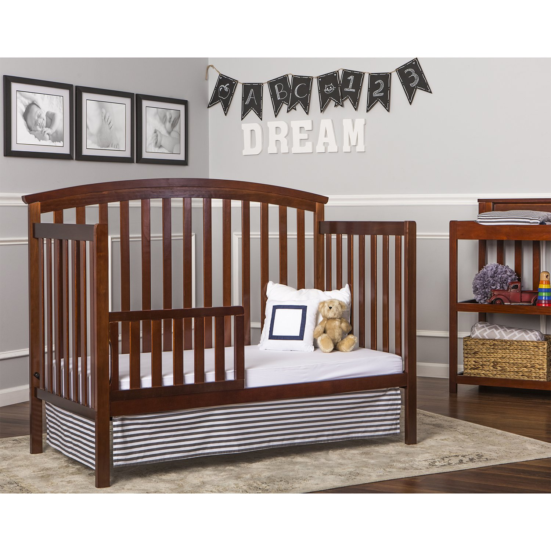 Amazon.com : Dream On Me Eden 5 In 1 Convertible, Espresso : Convertible  Cribs : Baby