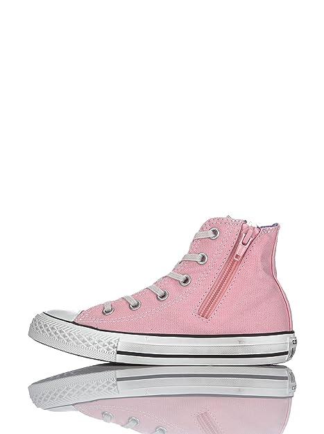Converse Zapatillas All Star Hi Canvas Rosa EU 29: Amazon.es: Zapatos y complementos