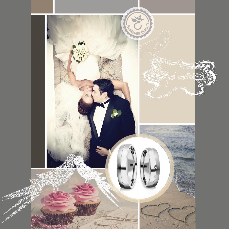 Eheringe Verlobungsringe Trauringe Silber 925 Weißgold Platin