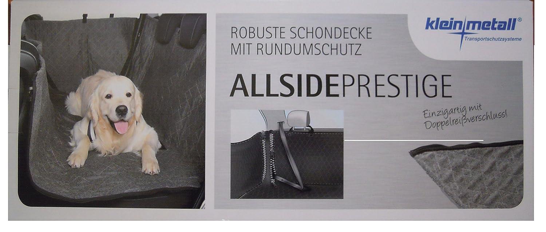 155x140cm Autoschondecke von Kleinmetall mit Seitenschutz Allside Prestige ca