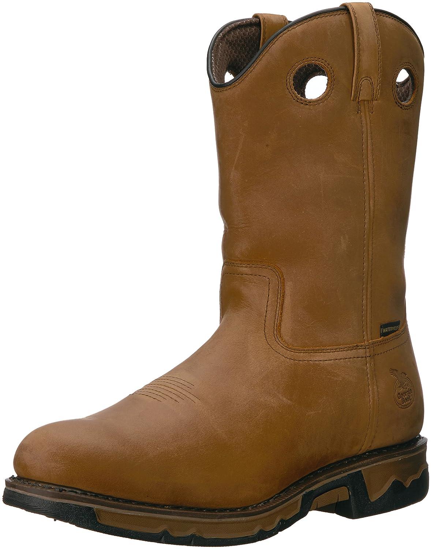 Georgia Gb00103 Mid Calf Boot B01F7ORHGS 13 W US|Dark Brown