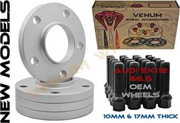 2011-2014 AUDI A6 A7 S6 RS5 12 MM THICK WHEEL SPACERS WITH LUG BOLTS 14x1.5