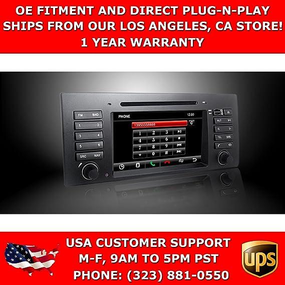 Amazon com: OttoNavi BM960439-DYBMNAXX BMW 97-03 E39/5 SERIES/M5