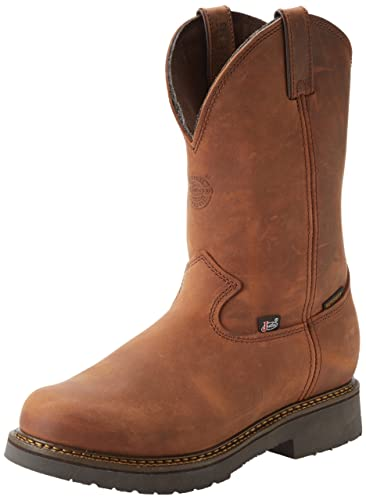 Amazon.com | Justin Original Work Boots Men's Jmax PN Water Non ...